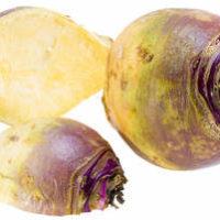 Soupe de rutabaga rôti, au gingembre et aux haricots noirsv